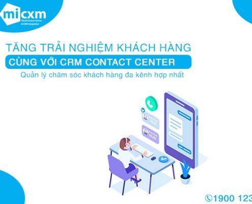 MiCXM chăm sóc khách hàng đa kênh hợp nhất